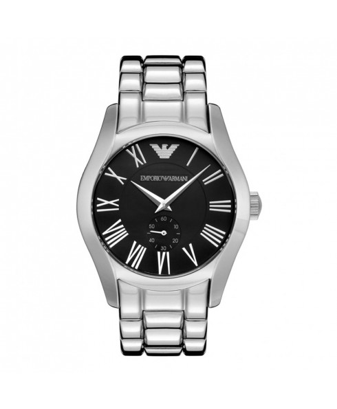 安普里奥 阿玛尼 Emporio Armani Mens Watch 男士 手表 - Silver and Black