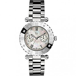 Guess 盖尔斯 Diver Chic Silver 女士手表 - X42106L1S