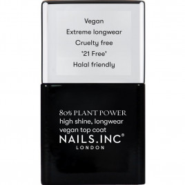Nails Inc. Plant Power Collection Top Coat