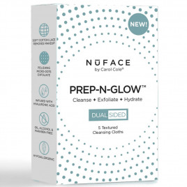 NuFACE - Prep-N-Glow Cleansing Cloths 5 Pack