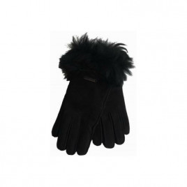 Hortons England  羊皮手套 黑色 Hortons England Elsfield Sheepskin Gloves - Black