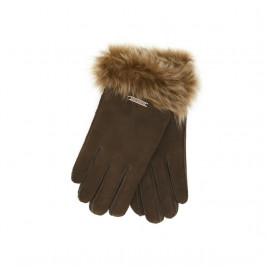 Hortons England  羊皮手套 棕色 Hortons England Elsfield Sheepskin Gloves - Brown