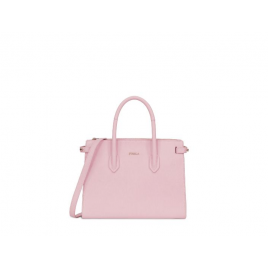 Furla 芙拉Pin Tote S East/West山茶粉包包