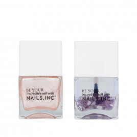 Nails Inc. Crystals Made Me Do It 指甲油套装 - 2 x 14ml