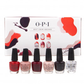 O.P.I - Best Crew Aboard Nail Polish Set (6 x 3.75ml)